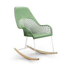 Guapa DNA High Backrest Rocking Chair by Midj - Bauhaus 2 Your House