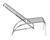 Rene Herbst Cord Sandows Adjustable Chaise - $2,022.00