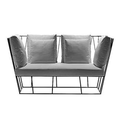 Herve Outdoor Two Seat Sofa by Driade - Bauhaus 2 Your House