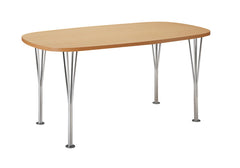 Arne Jacobsen Super Elliptical Span Leg Table - Bauhaus 2 Your House