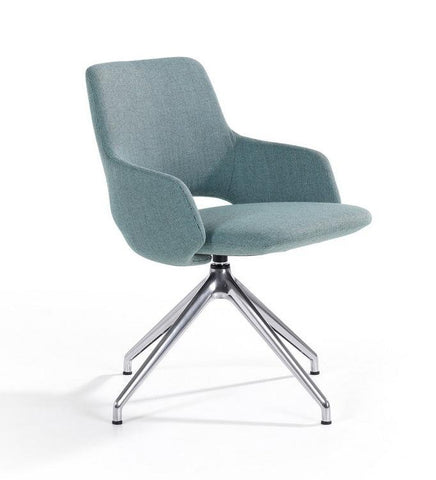 Jima Chair with Swiveling Star Base by Artifort - Bauhaus 2 Your House