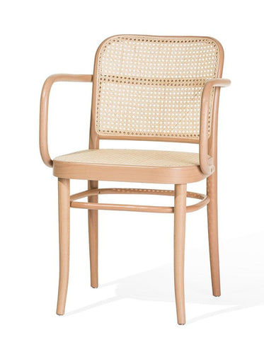 Josef Hoffmann B811 Bentwood Chair by Ton - Cane Back - Bauhaus 2 Your House