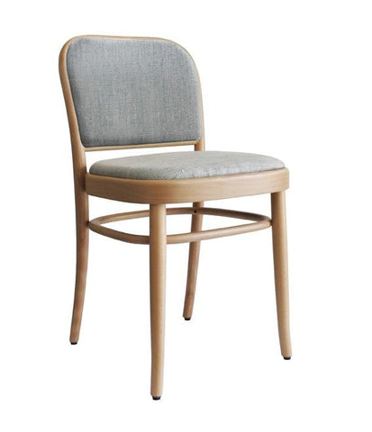 Joseph Hoffmann No 811 Upholstered Seat and Back Bentwood Side Chair by GTV - Bauhaus 2 Your House