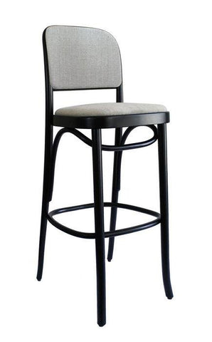 Joseph Hoffmann No 811 Upholstered Seat and Back Bentwood Stool by GTV - Bauhaus 2 Your House