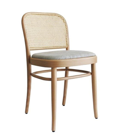 Joseph Hoffmann No 811 Upholstered Seat Bentwood Side Chair by GTV - Bauhaus 2 Your House