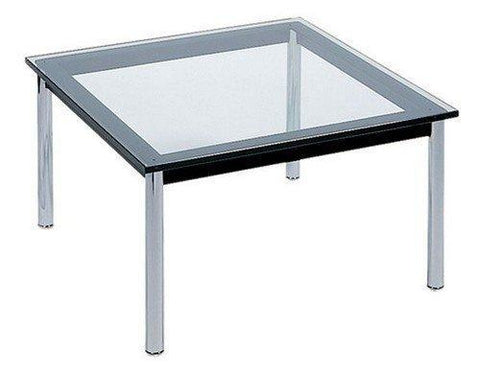 "Le Corbusier LC10 Square 48"" Coffee Table - Bauhaus 2 Your House"
