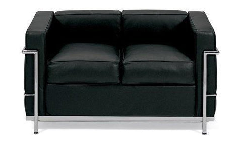 Le Corbusier Petite Loveseat (LC2) - Bauhaus 2 Your House