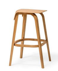 Leaf Bentwood Stool by Ton - Bauhaus 2 Your House