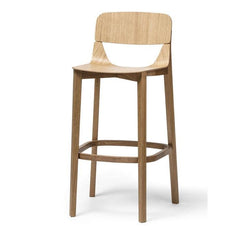 Leaf Bentwood Stool with Back by Ton - Bauhaus 2 Your House