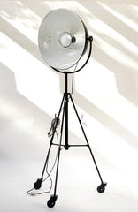 Fortuny Tripod Floor Lamp on Castors - Bauhaus 2 Your House
