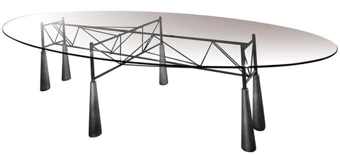 Lybra Dining Table by Driade - Bauhaus 2 Your House