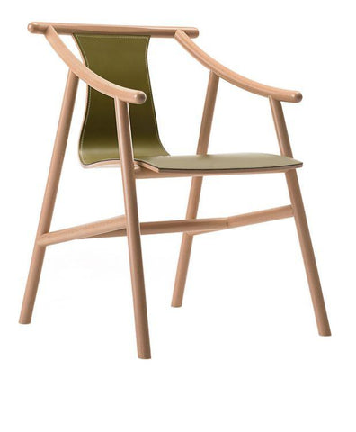 Magistretti 03 01 Bentwood Chair (Hide Version) by GTV - Bauhaus 2 Your House
