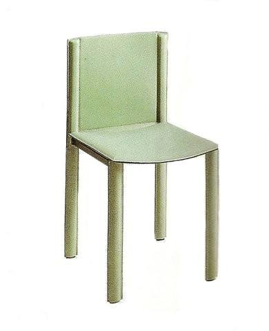 Mario Bellini Cab Chair with Full Leather Back - Bauhaus 2 Your House