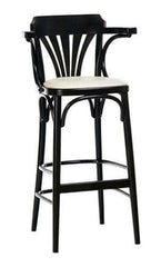 Michael Thonet BST135 Bentwood Stool (Upholstered) - Bauhaus 2 Your House