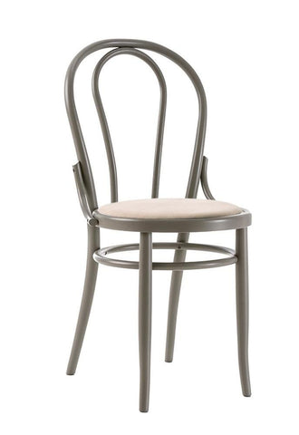 Michael Thonet No 18 Upholstered Seat Bentwood Side Chair by GTV - Bauhaus 2 Your House