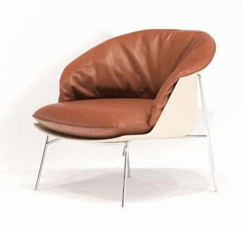 Moon Lounge Chair with Baydur Back by Driade - Bauhaus 2 Your House