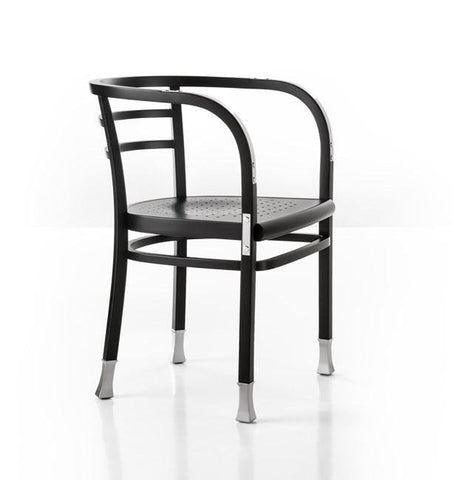 Otto Wagner Postsparkasse Bentwood Armchair with Aluminum by GTV - Bauhaus 2 Your House