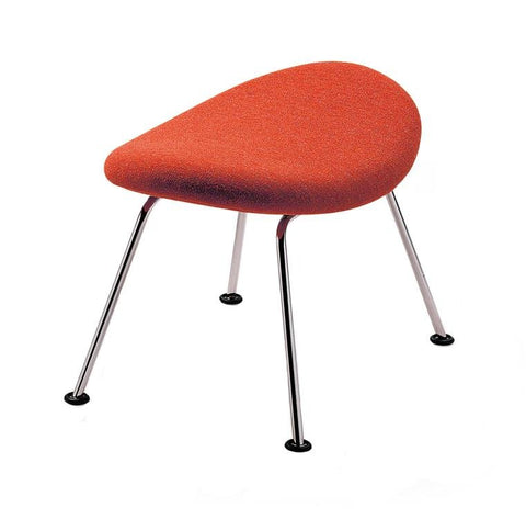 Pierre Paulin Orange Slice Footstool by Artifort - Bauhaus 2 Your House