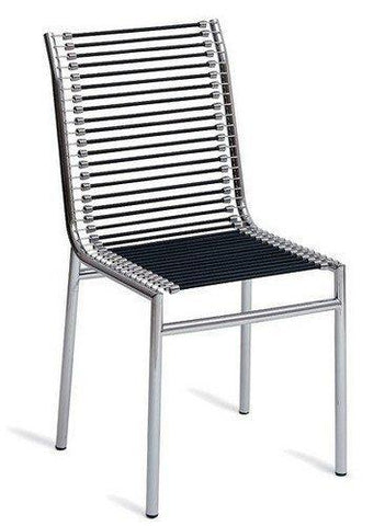 Rene Herbst Highback Cord Sandows Chair - Bauhaus 2 Your House