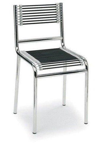Rene Herbst Low Back Cord Sandows Chair - Bauhaus 2 Your House