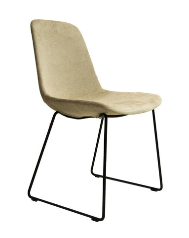 Step Chair 904 Upholstered with Sled Base by Tonon - Bauhaus 2 Your House