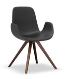 Step Armchair Soft Touch Wood Base 904L2 by Tonon - Bauhaus 2 Your House