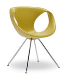 Up Soft Touch Chair with Metal Base by Tonon - Bauhaus 2 Your House