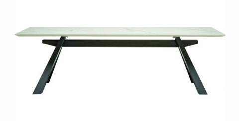 Zeus Dining Table (Ceramic Top) by Midj - Bauhaus 2 Your House