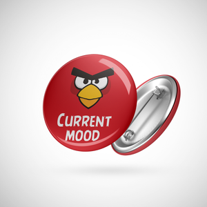 Angry Birds Badge (Current mood)