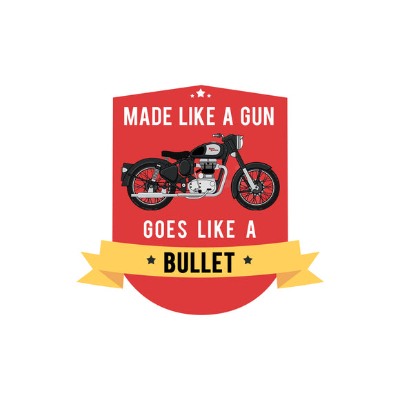 Royal Enfield Bullet Sticker