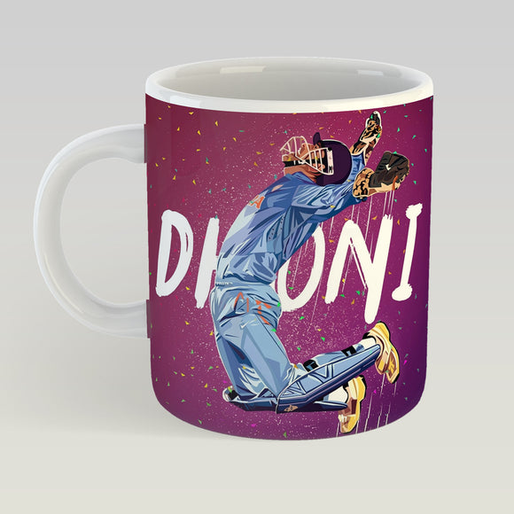 MS Dhoni - Printed Coffee Mug