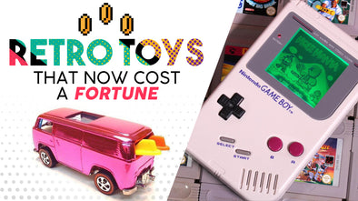 Retro Toys That Now Cost a Fortune