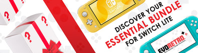 Discover your essential bundle for Switch Lite!