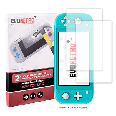 Nintendo Switch Lite Tempered Glass - Pack of 2