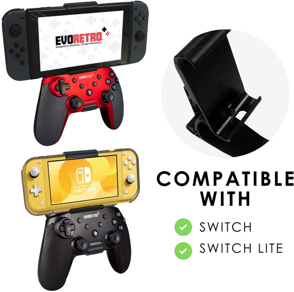 NINTENDO SWITCH CONTROLLER CLIP MOUNT (BLACK)