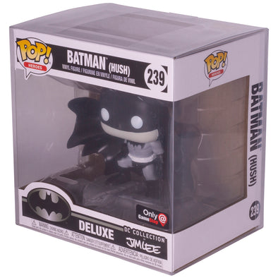 Funko Pop New Jim Lee (Batman Hush only)- PET Protector - Pack of 10