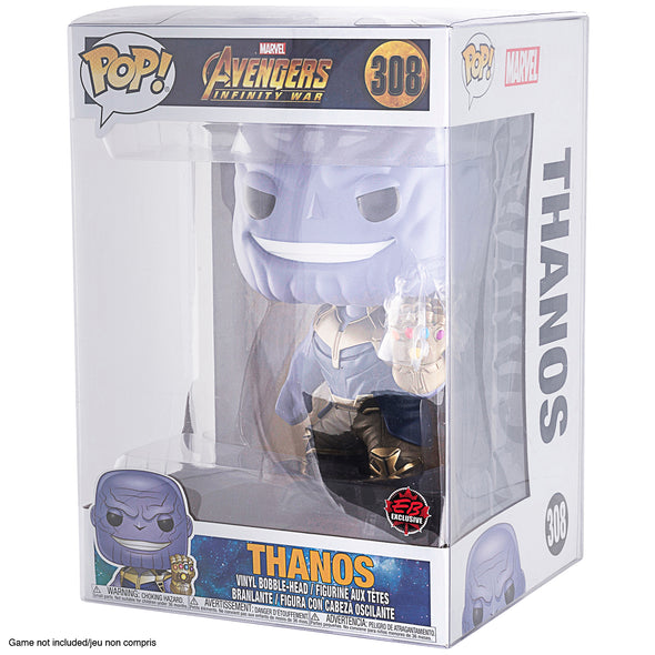 Funko Pop 10 inches for Hulk Thor Ragnarok / Thanos - PET Protectors - Pack of 10
