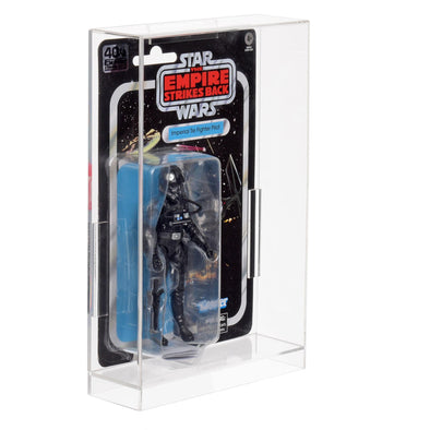 Star Wars & GI-Joe 3.7 Carded Action Figurines Clear Acrylic Display Case
