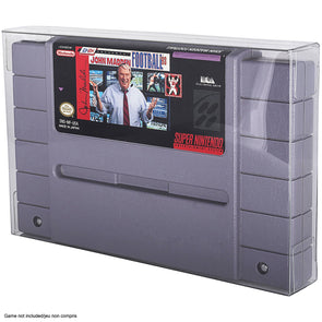 SNES CARTRIDGE Protectors - Pack of 25 - Evoretroca