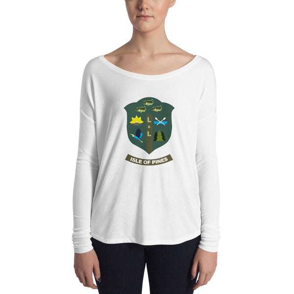 Isle of Pines Ladies' Long Sleeve Tee