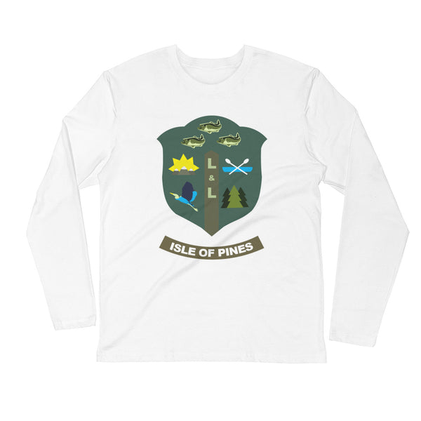 Isle of Pines Long Sleeve Fitted Crew