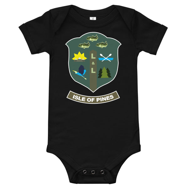 Isle of Pines Baby bodysuit