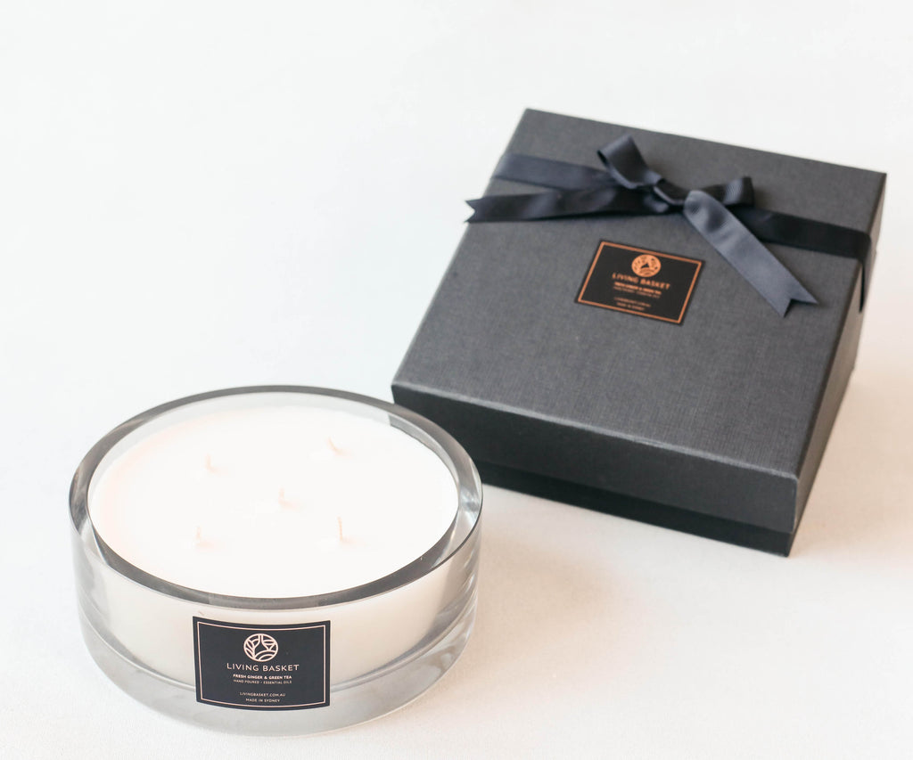 LUXURY POLISH GLASS CANDLE