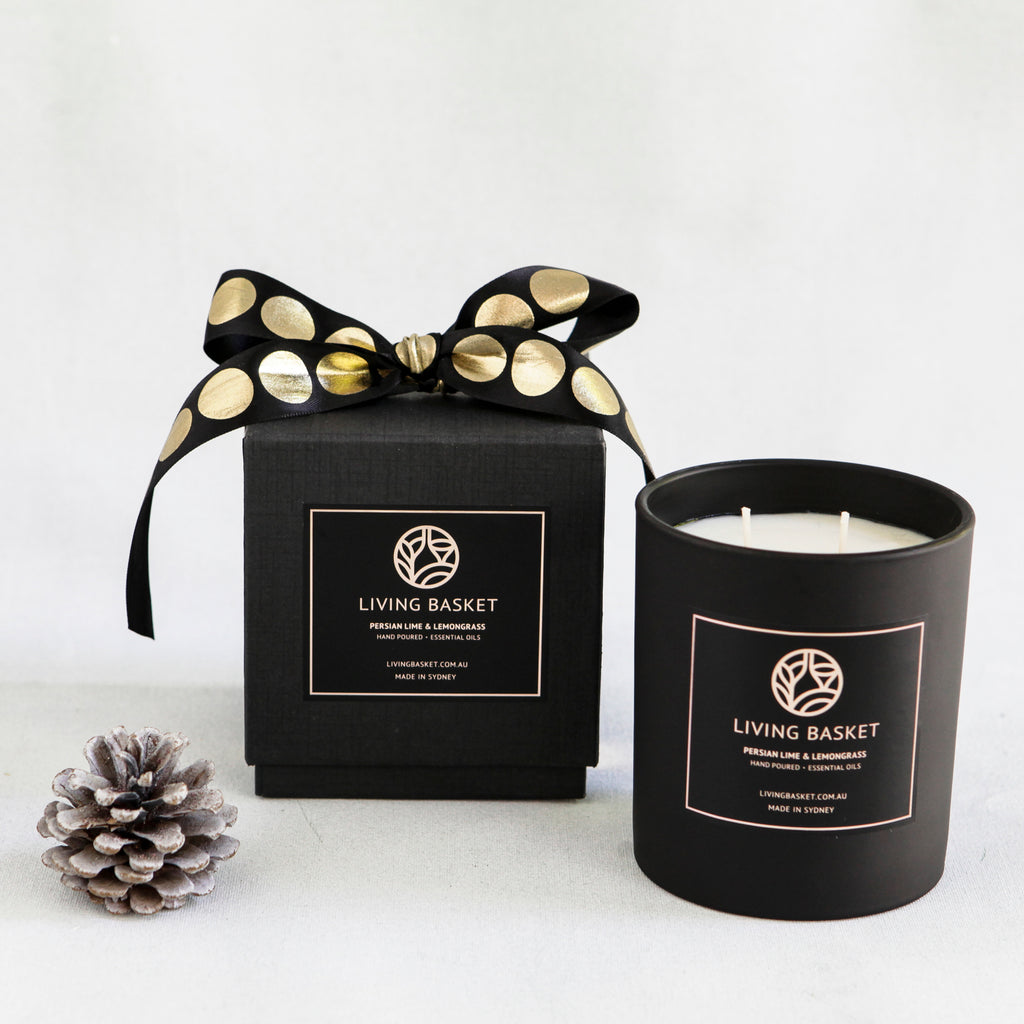 PERSIAN LIME AND LEMONGRASS SIGNATURE CANDLE