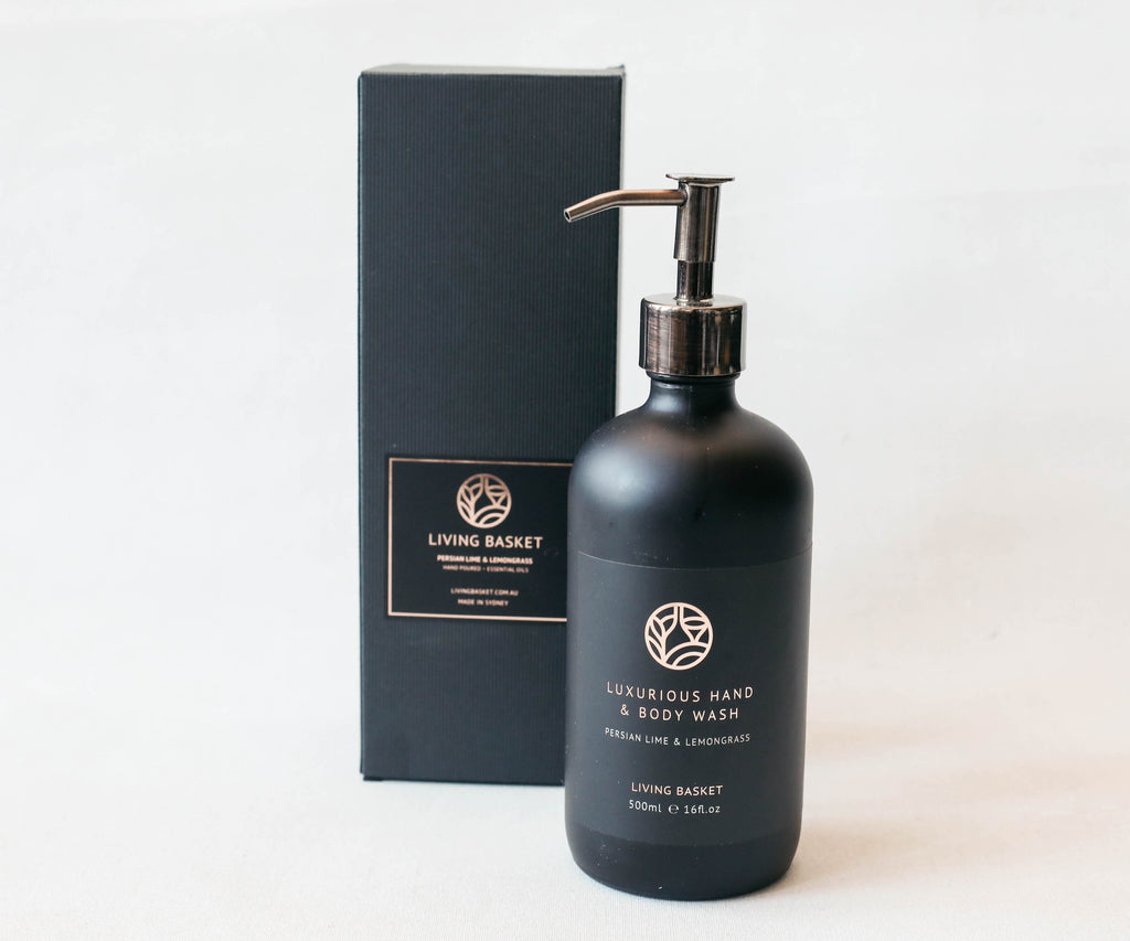 LUXURIOUS ALL-NATURAL HAND AND BODY WASH