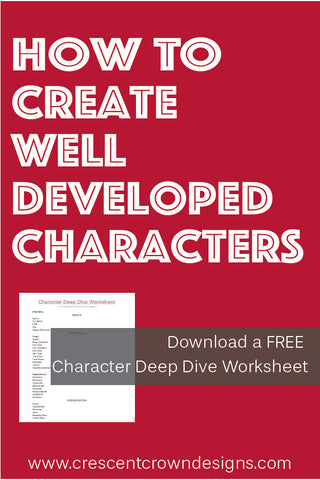 Worksheet on Developing Characters
