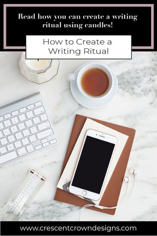 Set a Writing Ritual Using Candles