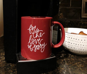 For the Love of Story | Ceramic Coffee Mug