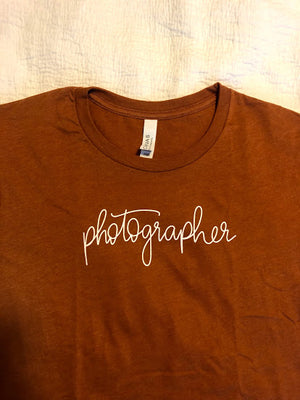 The Photographer | Autumn Jersey Tee