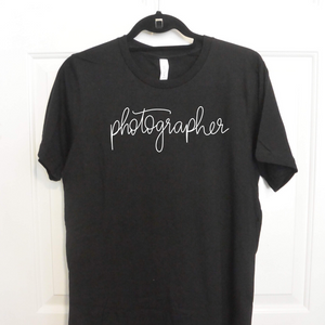 The Photographer | 100% Cotton Tee